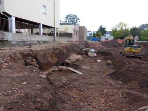 Grabung Südallee Trier