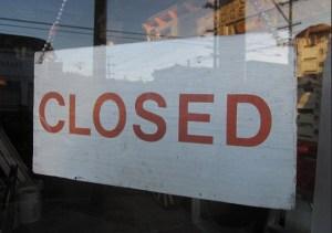 Closed Öffnungszeiten