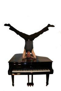 Mantey, ein virtuoser Pianist, in der TUFA Trier