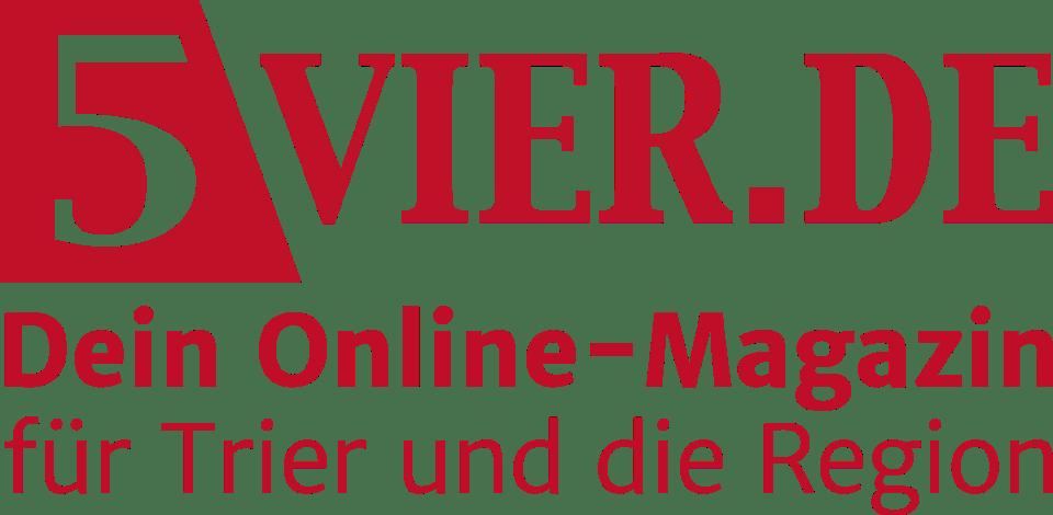 Logo 5vier Red Claim - 5VIER Online Magazin Trier und die Region
