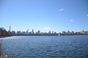 Manhattans Skyline vom Central Park aus gesehen