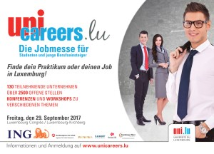 Große Jobmesse in Luxemburg am 29. September