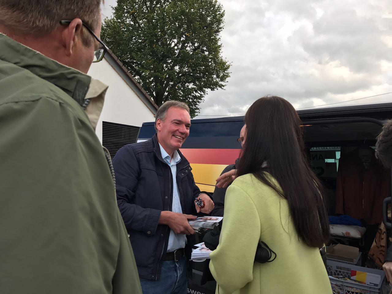 Wahlkampf bei der CDU für die Bundestagswahl