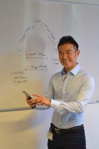 Dr. Jiangshan Yu der Universität Luxemburg