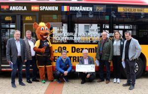 Pressetermin der Handballweltmeisterschaft der Frauen in Trier
