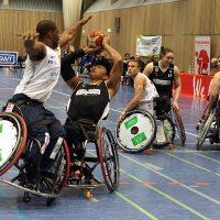 Zum Auftakt der Playoffs fordern die Trierer Rollstuhlbasketballer den amtierenden Deutschen Meister heraus. - 5VIER