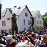 5vier.de war bei der Enthüllung der Karl Marx Statue dabei! - 5VIER