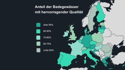 eu europa badewasser qualität prozent übersicht