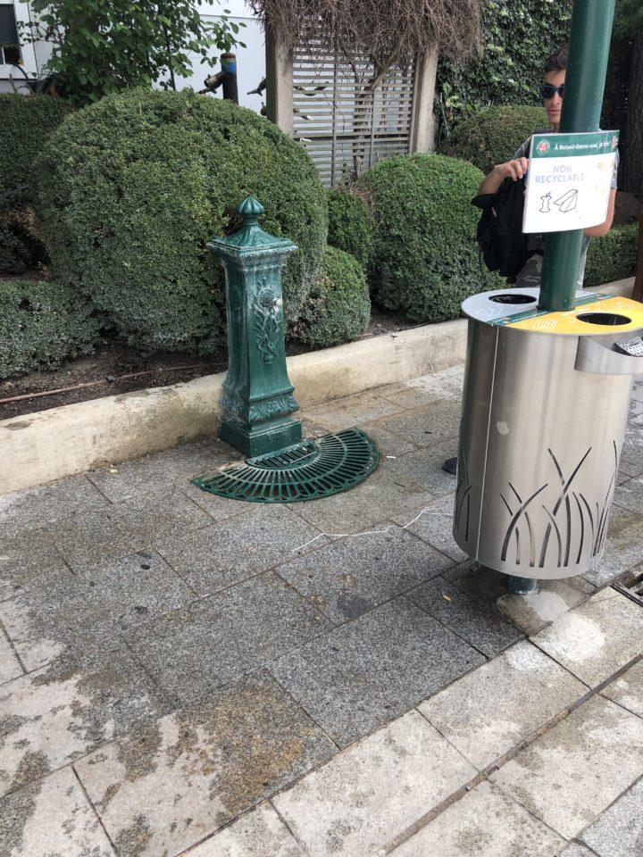 Wasserspender Paris