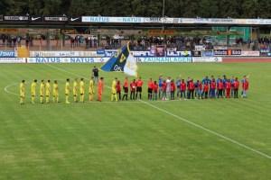Eintracht Trier - FV Dudenhofen. Foto: 5vier.de / Manuel Maus - 5VIER