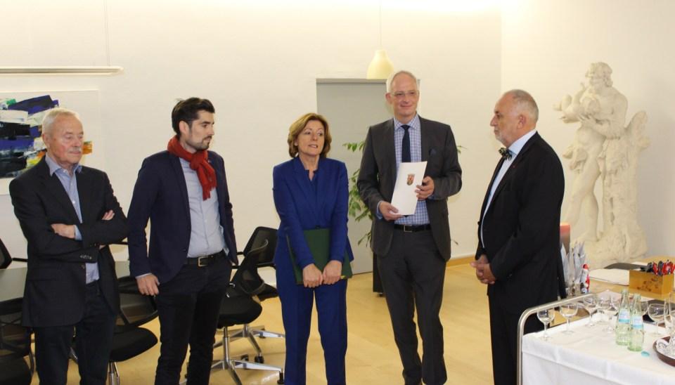 Hans-Richard Günther Sven Teuber Malu Dreyer, Rainer Lehnart, Wolfram Leibe