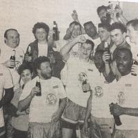 Die Aufstiegsmannschaft von 1990. Foto: Privatsammlung Rainer Loch