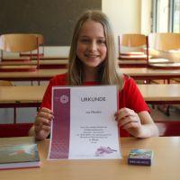 Schülerin des Gymnasiums Hermeskeil erfolgreich im Chemiewettbewerb
