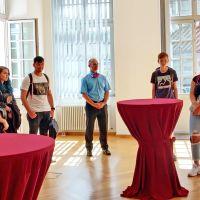 OB Leibe würdigt Erfolge von HGT-Schülern beim Hackathon