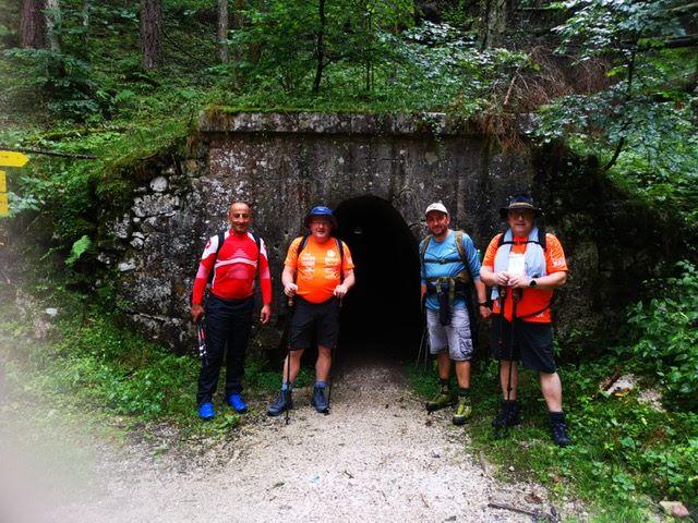#8Freunde wandern zum dritten Mal für nestwärme e.V. über die Alpen – Tag 2