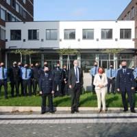 """Ministerpräsidentin Malu Dreyer besucht """"ihre"""" Polizeiinspektion"""