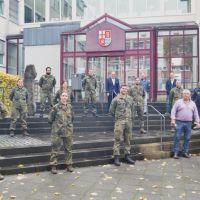 Gesundheitsamt der Kreisverwaltung erhält Unterstützung von der Bundeswehr
