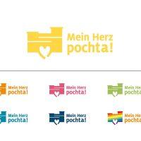 Das Fan-Logo mit dem Siegerspruch mit seinen unterschiedlichen Farbvariationen. Foto: Stadt Trier