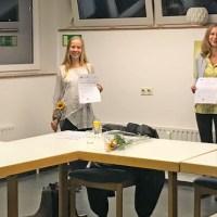Die Teilnehmerinnen freuen sich über ihren erfolgreichen Abschluss des Kurses. Foto: Presseamt Trier