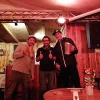 Die glücklichen Gewinner des Abends: Nico Döring Atelier der Braukünste (links), Klaus Tonkaboni (mitte) und Jan Niewodniczanski von Craftwerk (rechts) Foto: 5VIER.de