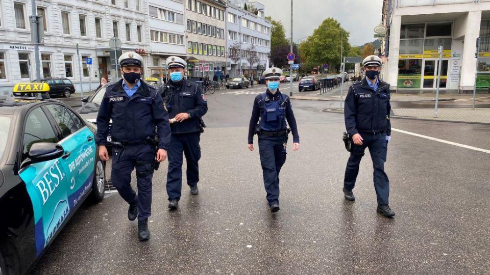 Hunderte Kontrollen der Maskenpflicht in Trier