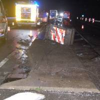Verkehrsunfall mit hohem Sachschaden durch LKW