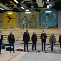 Generalsanierung der Sporthalle Schweich liegt im Zeitplan