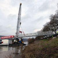 Der neue Steg wird am Pacelliufer platziert und schafft die Verbindung zur überdachten Anlegestelle. Bildquelle: Presseamt Trier