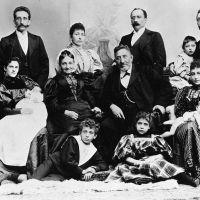 Das Foto zeigt die in Trier lebende jüdische Familie Loeb im Jahr 1895. Bildquelle: privat