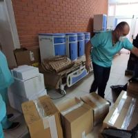 Die Bolivienpartnerschaft des Bistums hat Beatmungsgeräte nach Bolivien gesendet. Bildquelle: Bistum Trier