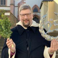 Pater Albert Seul OP zum 25-Jährigen Jubiläum der Motorradwallfahrt. Bildquelle: Tobias Marenberg