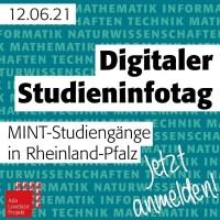 Der digitale Studieninfotag bietet die einmalige Möglichkeit, das Studienangebot für MINT Studienfächer in Rheinland-Pfalz an einem Tag kennenzulernen. Bildquelle: Universität Trier