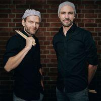 Das Percussion-Duo Double Drums gibt am Wochenende eine Doppelvorstellung. Bildquelle: Lars Ternes
