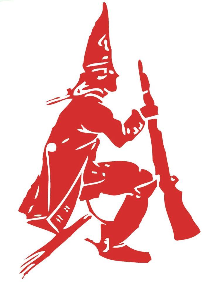 Das Logo der KG Rote Funken Trier 1951 e.V.: Das Funkenmännchen. Bildquelle: Rote Funken