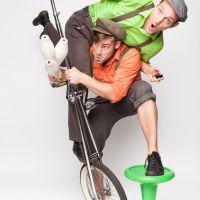 Das Hochrad Duo springt als Ersatz am 3. Juli ein. Bildquelle: TuFa Trier