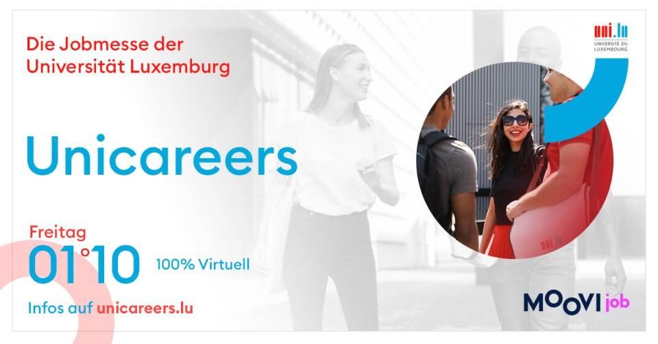 Unicareers Jobmesse für Studierende und Berufsanfänger