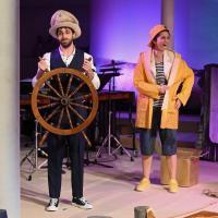 """Janja Vuletic und Oded Geizhals spielen in dem Musiktheater """"Gold!"""" mit. Bildquelle: Martin Kaufhold"""