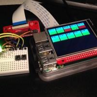 """GPIOs steuern mit Raspberry Pi und 2.8"""" Touch-Display"""