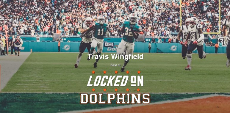 Travis Locked on Dolphins Podcast Cover