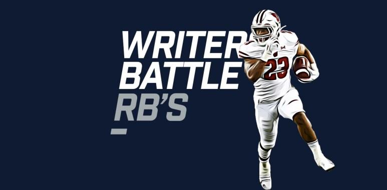 Writers Battle RBs - Taylor