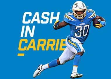 Cash in Carries - Austin Eckler