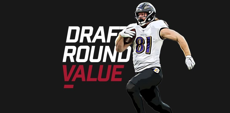 Draft Round Value - Hayden Hurst