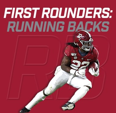 First Rounders RBs - Najee Harris