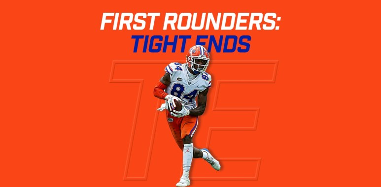 First Rounders TEs - Kyle Pitts