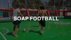soap football amman