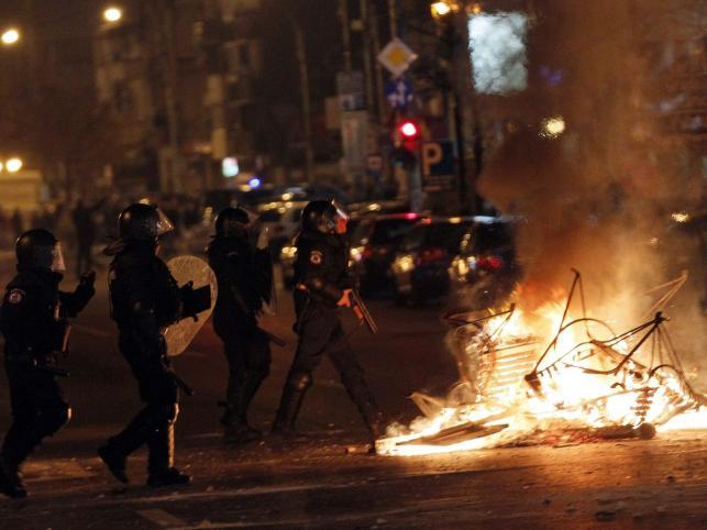 59 osób rannych w demonstracji przeciw prezydentowi Rumunii