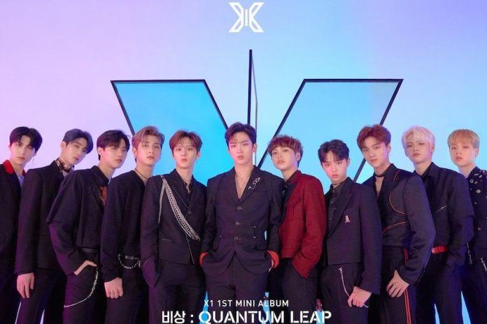 "X1 Breaks Debut Album 1st Week Sales Record With ""Quantum Leap"""