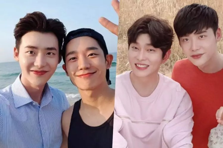 Jung Hae In And Yoon Kyun Sang Send Coffee Trucks To Show Support For Lee Jong Suk