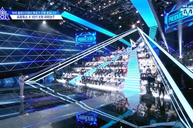 """""""Produce X 101"""" Announces New Rules For Debut Group Formation And Grading + Reveals 1st Rankings"""