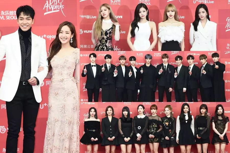 Stars Walk The Red Carpet At First Day Of 33rd Golden Disc Awards